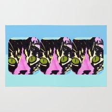 Pop Art Cat No. 1 Rug