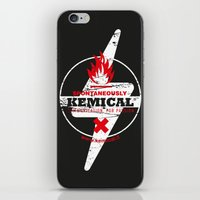 Spontaneously Kemical iPhone & iPod Skin