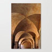 Symmetrical Ceiling In R… Canvas Print