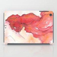 red head iPad Case