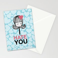 I Hate You / Lollipop Stationery Cards