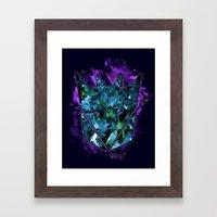 Decepticons Abstractness - Transformers Framed Art Print