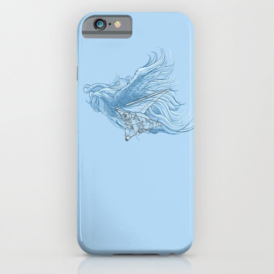 gliding on the wind iPhone & iPod Case