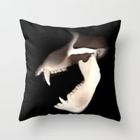 SCANNER I Throw Pillow