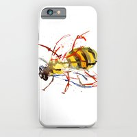bee iPhone & iPod Cases featuring Bee by Lauren Thawley