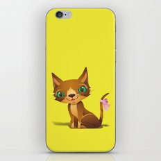 The Great Gold Meow iPhone & iPod Skin