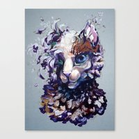 Brightheart Flowers Canvas Print