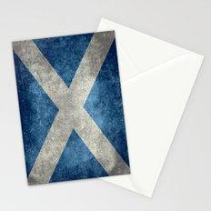National flag of Scotland - Vintage version Stationery Cards