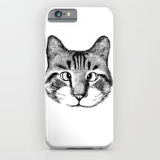 Strabismus Cat Slim Case iPhone 6s
