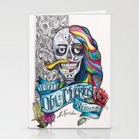Día De Muertos ANALOG Z… Stationery Cards