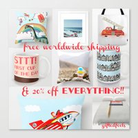 Everything 20% Off Yay!!… Canvas Print