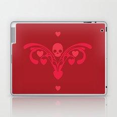 Skulls and hearts Laptop & iPad Skin
