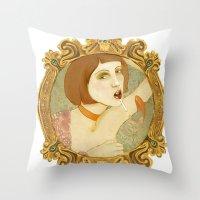 Smoked Fish (Anniestrati… Throw Pillow