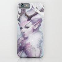 princess iPhone & iPod Cases featuring Reindeer Princess by Artgerm™