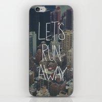 Let's Run Away To NYC iPhone & iPod Skin