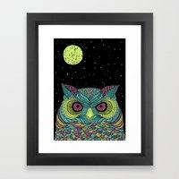 The Mystique Owl Framed Art Print