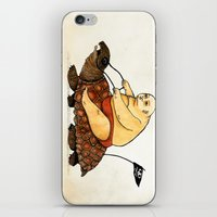 Lazy Tarzan iPhone & iPod Skin