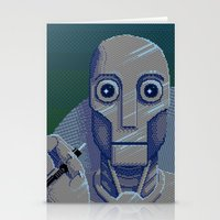 Pixelbot Stationery Cards