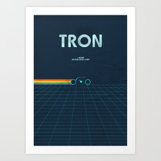 A MOVIE POSTER A DAY: TR… Art Print