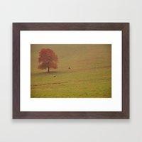 The Pasture Framed Art Print