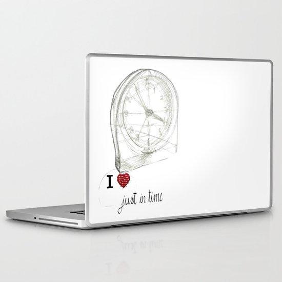 Just in time Laptop & iPad Skin