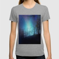Bluer than Midnight Womens Fitted Tee Tri-Grey SMALL