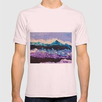 Stormy Mens Fitted Tee Light Pink SMALL