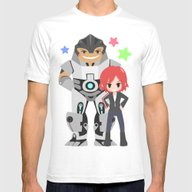 T-shirt featuring Mass Effect - Grunt And … by Choco-Minto