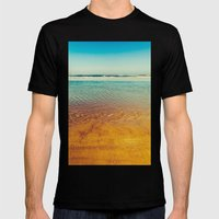 Pacific Mens Fitted Tee Black SMALL