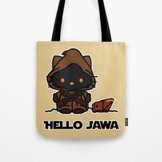 Hello Jawa Tote Bag