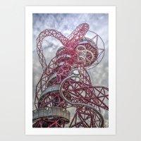 The Arcelormittal Orbit  Art Print