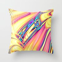 Tutti Frutti Throw Pillow