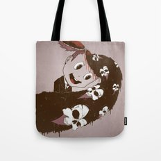 Head Spill Tote Bag