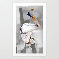 Hanged Man Art Print