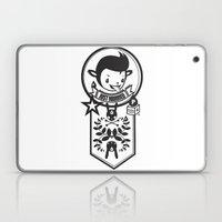 LOVE LIFE - JUST MARRIED BADGE Laptop & iPad Skin