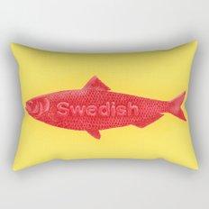Swedish Fish Rectangular Pillow