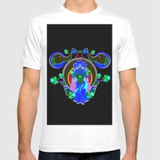 Goddess Lakshmi from India SMALL White Mens Fitted Tee