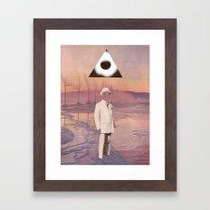 A Gentleman And A Scholar Framed Art Print