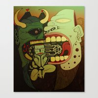 Cathartic Canvas Print