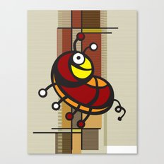 Deco Parrot Canvas Print