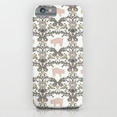pig damask Slim Case iPhone 6s
