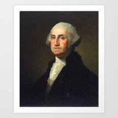 Rembrandt Peale - George Washington Art Print