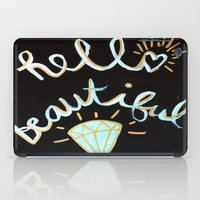 Hello, beautiful! iPad Case