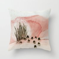 Something New Was Discov… Throw Pillow