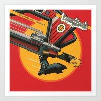 Laser Beak - Starscreami… Art Print