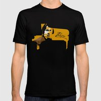 Frederic Chopin Mens Fitted Tee Black SMALL