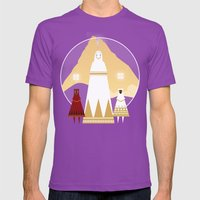 Journey Mens Fitted Tee Ultraviolet SMALL