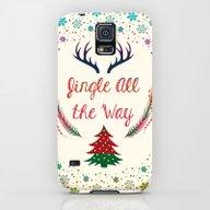 Christmas Galaxy S5 Slim Case
