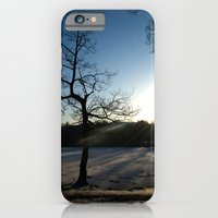 iPhone & iPod Case featuring Snowy Sunset by StaceeIrvine