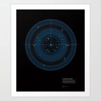 The Observable Universe Art Print